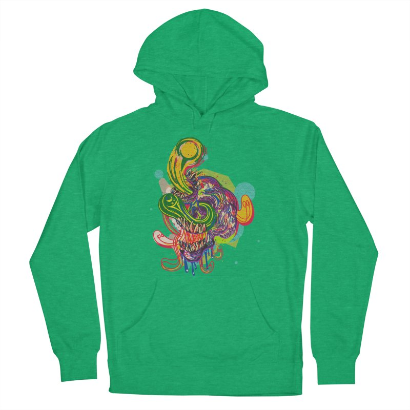 omg Women's French Terry Pullover Hoody by okik's Artist Shop