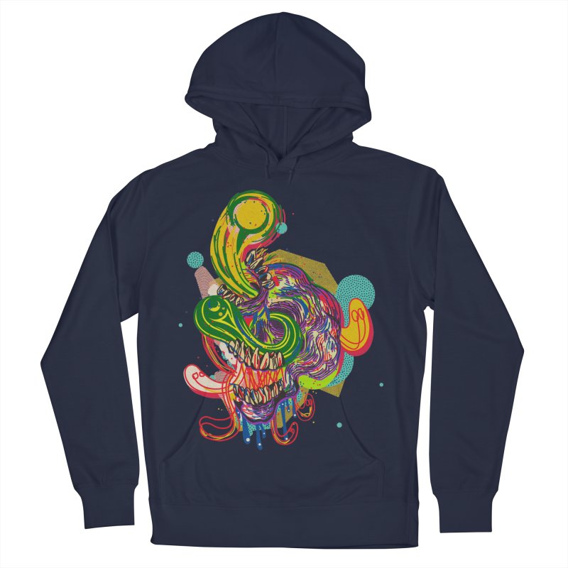 omg Men's French Terry Pullover Hoody by okik's Artist Shop