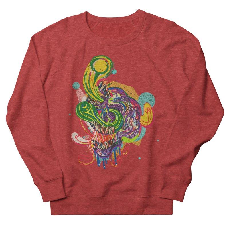 omg Women's French Terry Sweatshirt by okik's Artist Shop