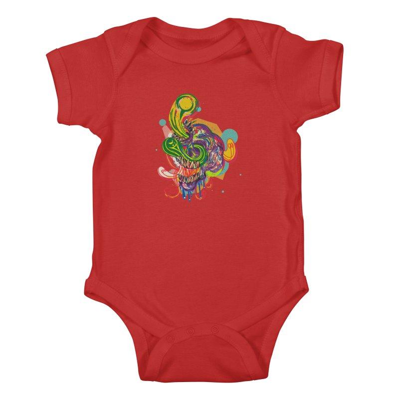 omg Kids Baby Bodysuit by okik's Artist Shop