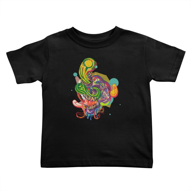 omg Kids Toddler T-Shirt by okik's Artist Shop
