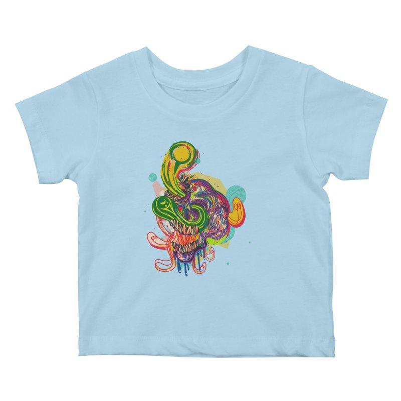 omg Kids Baby T-Shirt by okik's Artist Shop
