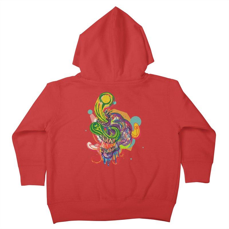 omg Kids Toddler Zip-Up Hoody by okik's Artist Shop