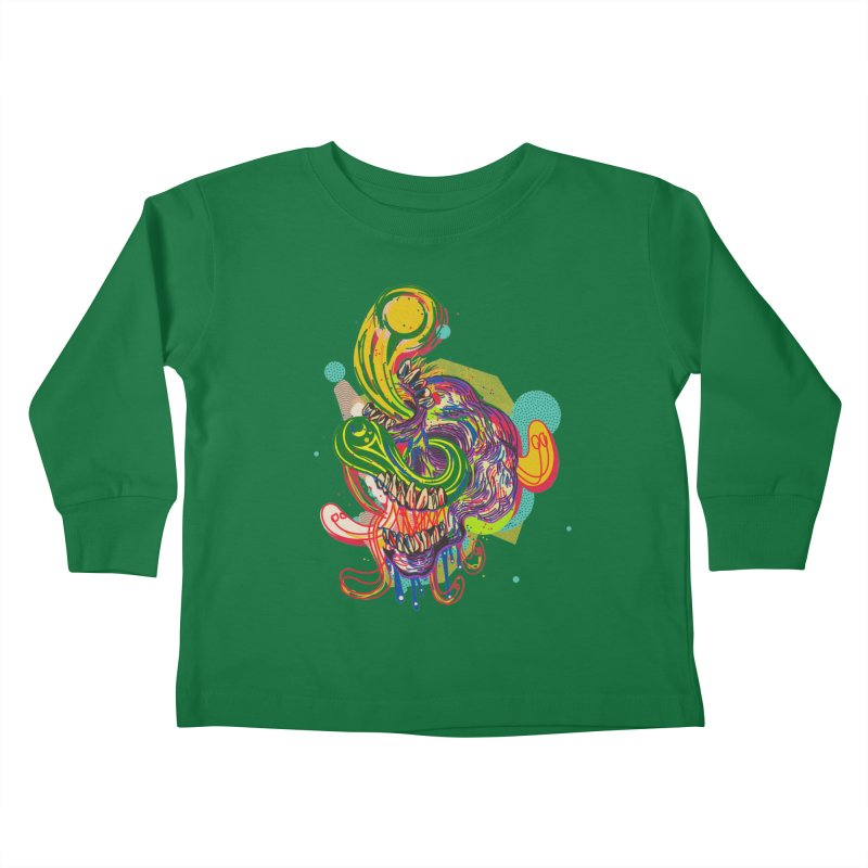 omg Kids Toddler Longsleeve T-Shirt by okik's Artist Shop