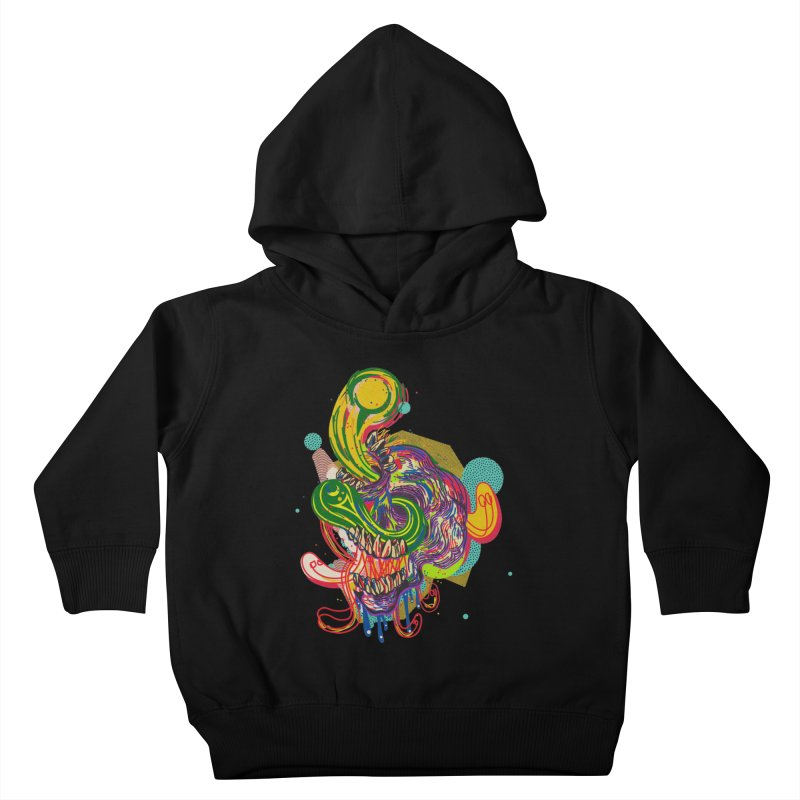 omg Kids Toddler Pullover Hoody by okik's Artist Shop
