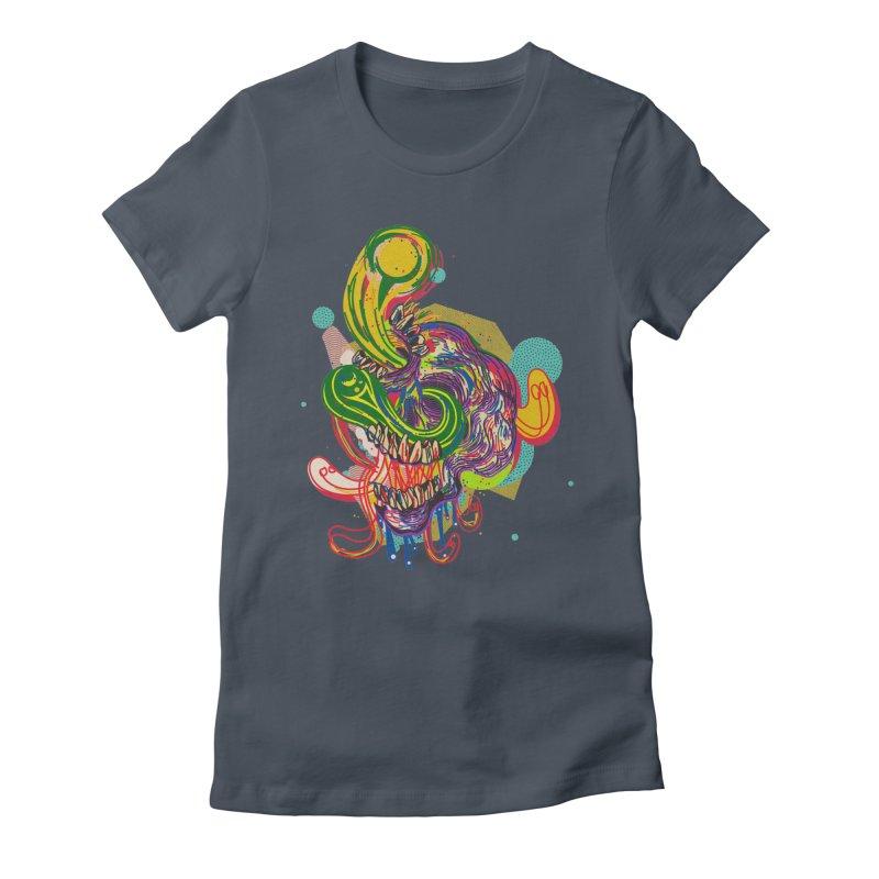 omg Women's Fitted T-Shirt by okik's Artist Shop
