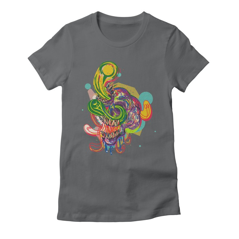 omg Women's Fitted T-Shirt by okik's Artist Shop