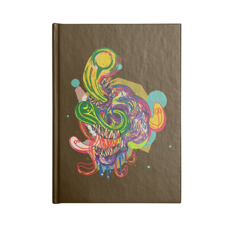 omg Accessories Blank Journal Notebook by okik's Artist Shop