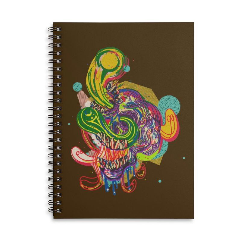 omg Accessories Lined Spiral Notebook by okik's Artist Shop
