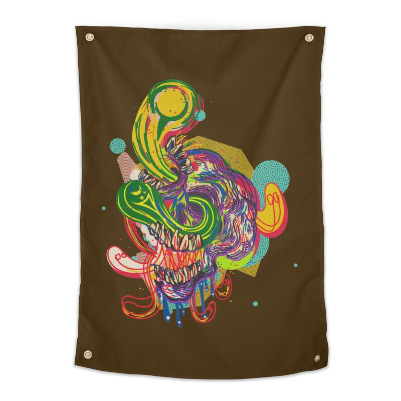 omg Home Tapestry by okik's Artist Shop