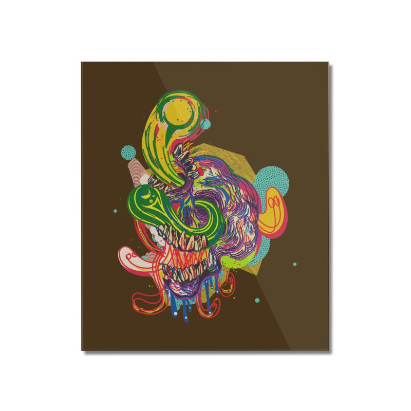 omg Home Mounted Acrylic Print by okik's Artist Shop