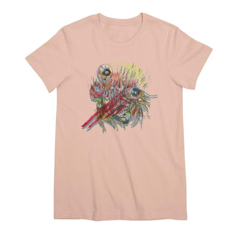 purgatory Women's Premium T-Shirt by okik's Artist Shop