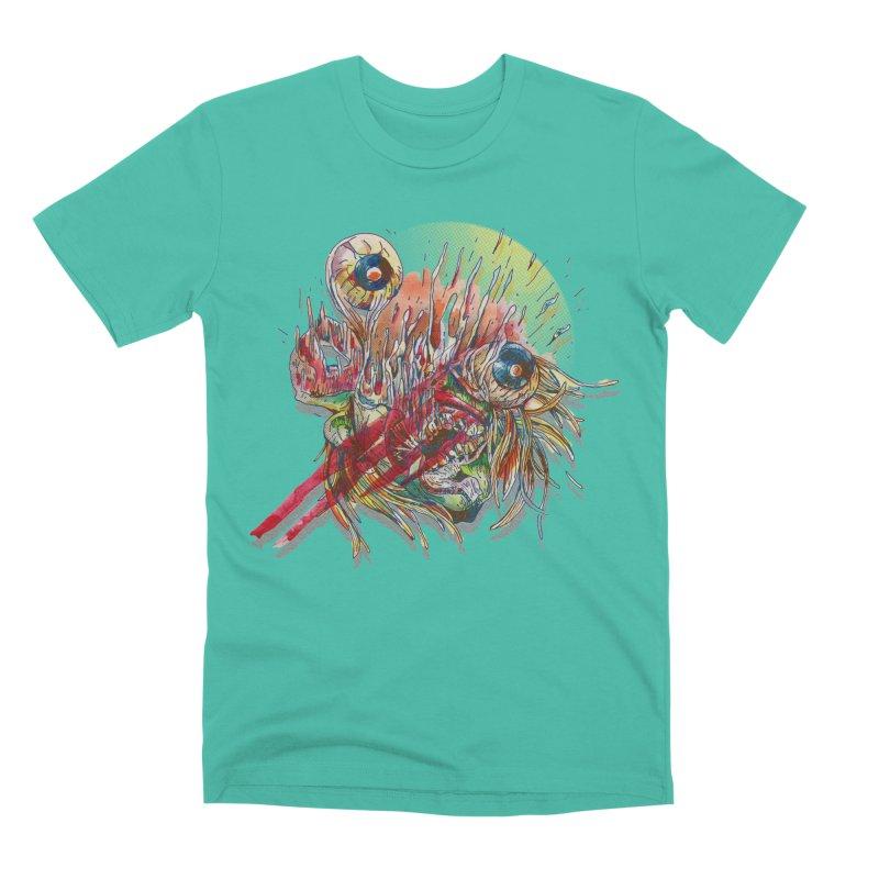 purgatory Men's Premium T-Shirt by okik's Artist Shop