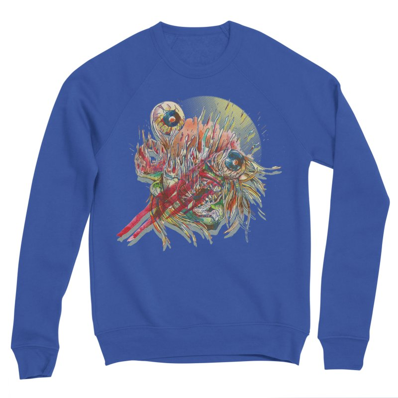 purgatory Men's Sponge Fleece Sweatshirt by okik's Artist Shop