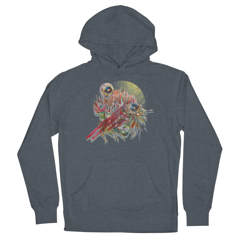 purgatory Men's French Terry Pullover Hoody by okik's Artist Shop