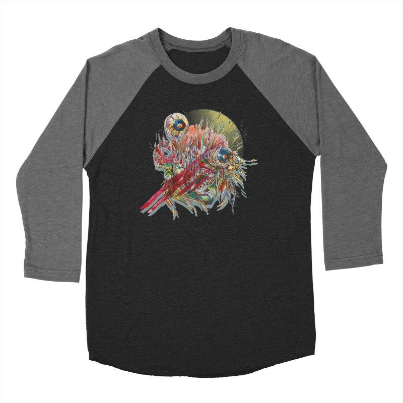 purgatory Women's Baseball Triblend Longsleeve T-Shirt by okik's Artist Shop
