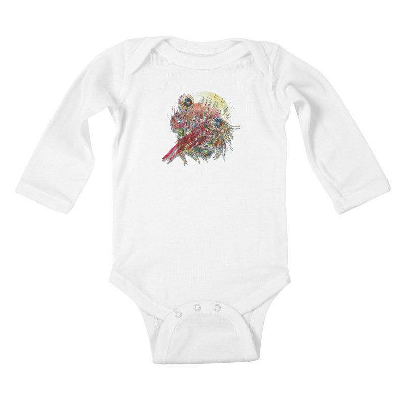 purgatory Kids Baby Longsleeve Bodysuit by okik's Artist Shop