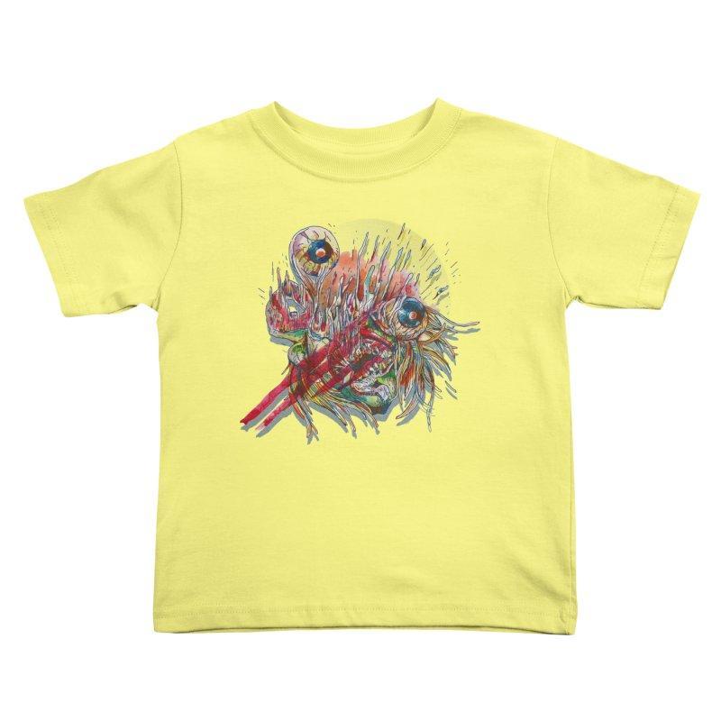 purgatory Kids Toddler T-Shirt by okik's Artist Shop
