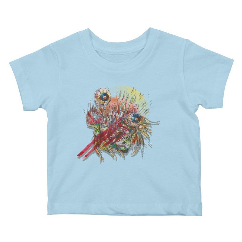 purgatory Kids Baby T-Shirt by okik's Artist Shop