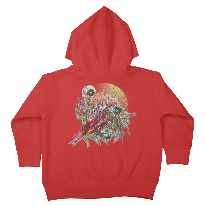 purgatory Kids Toddler Zip-Up Hoody by okik's Artist Shop