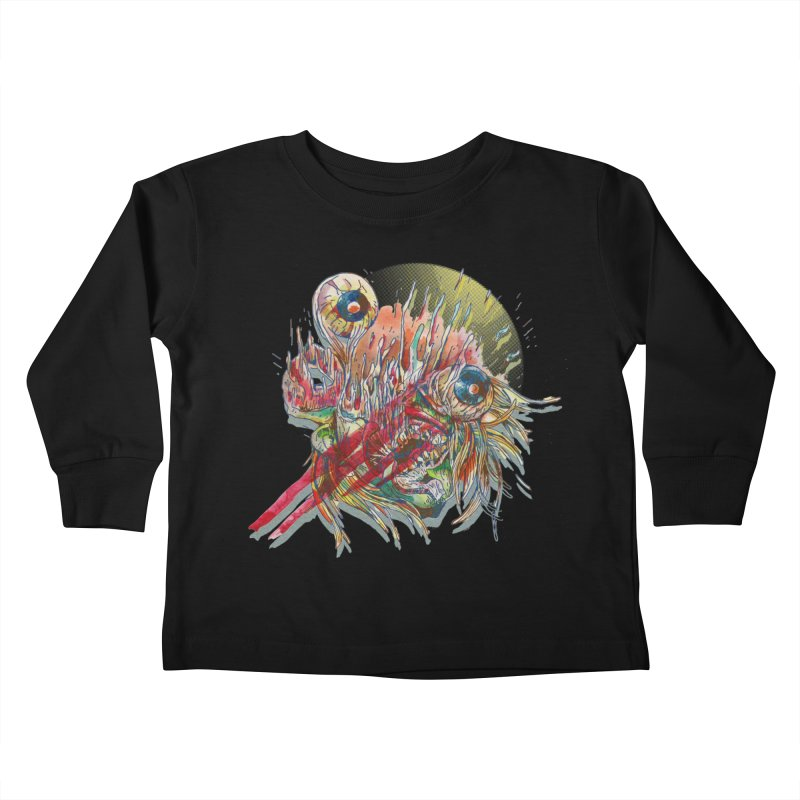 purgatory Kids Toddler Longsleeve T-Shirt by okik's Artist Shop