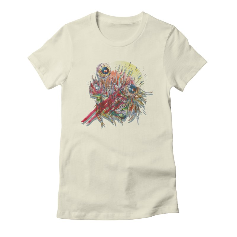 purgatory Women's Fitted T-Shirt by okik's Artist Shop