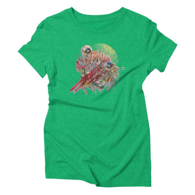 purgatory Women's Triblend T-Shirt by okik's Artist Shop