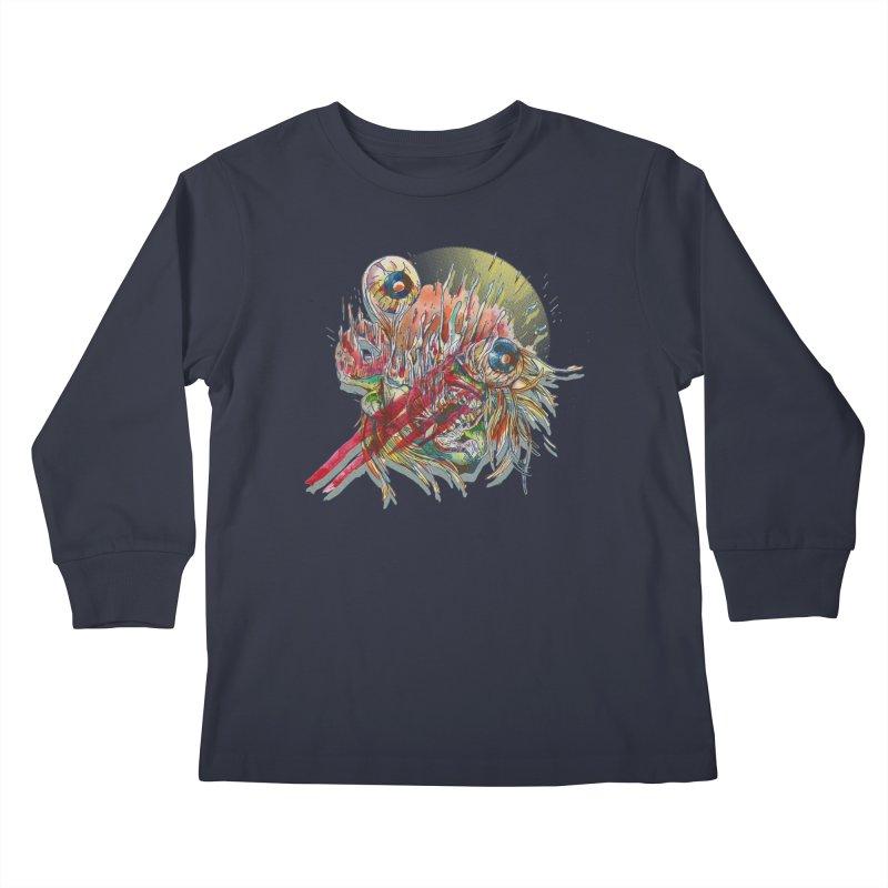 purgatory Kids Longsleeve T-Shirt by okik's Artist Shop