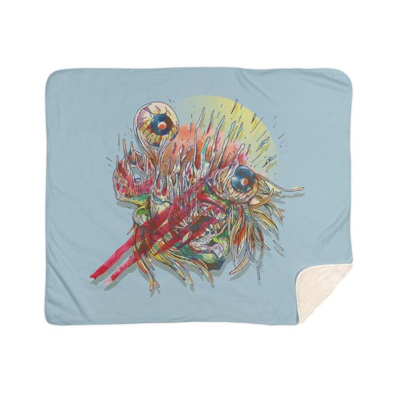 purgatory Home Blanket by okik's Artist Shop