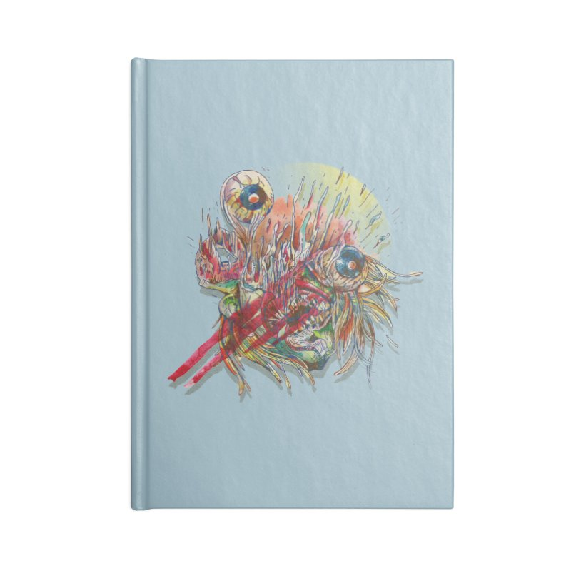 purgatory Accessories Blank Journal Notebook by okik's Artist Shop