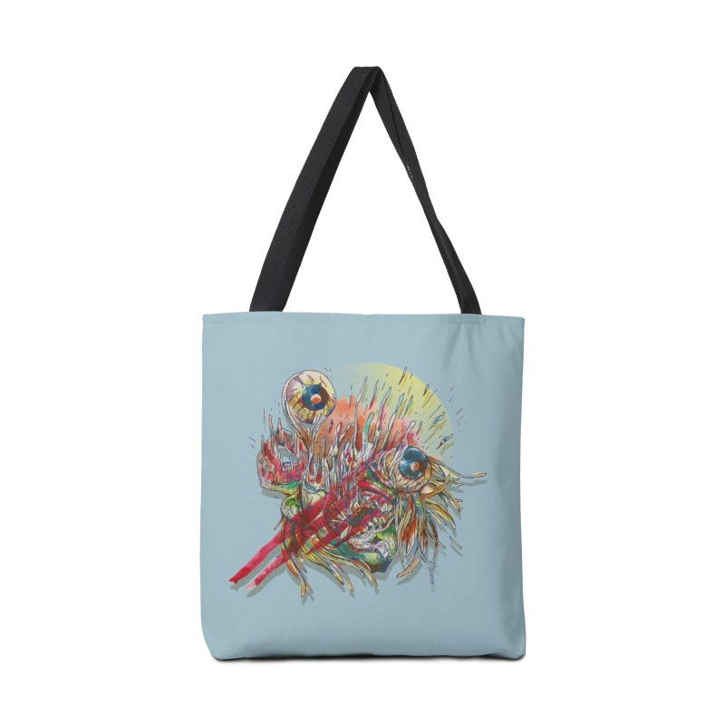 purgatory Accessories Tote Bag Bag by okik's Artist Shop