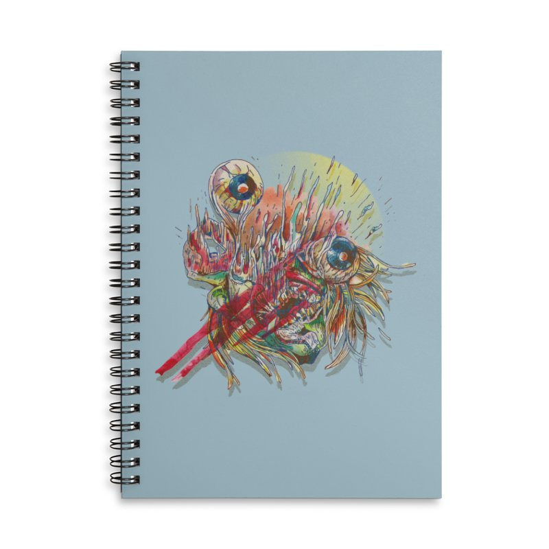 purgatory Accessories Lined Spiral Notebook by okik's Artist Shop