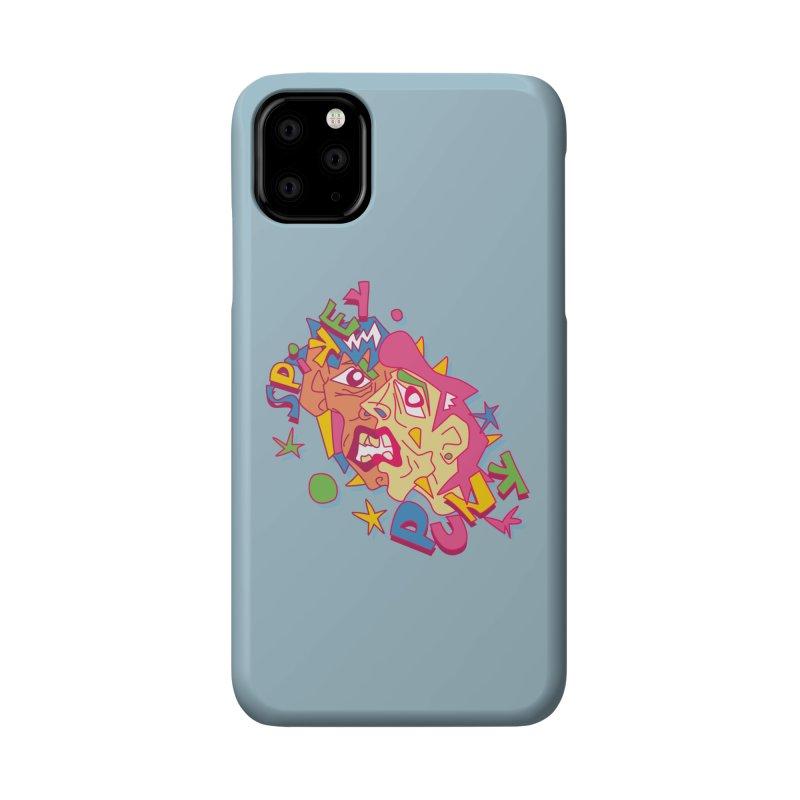 spikey punk Accessories Phone Case by okik's Artist Shop