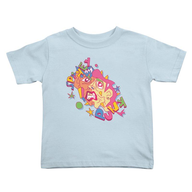 spikey punk Kids Toddler T-Shirt by okik's Artist Shop