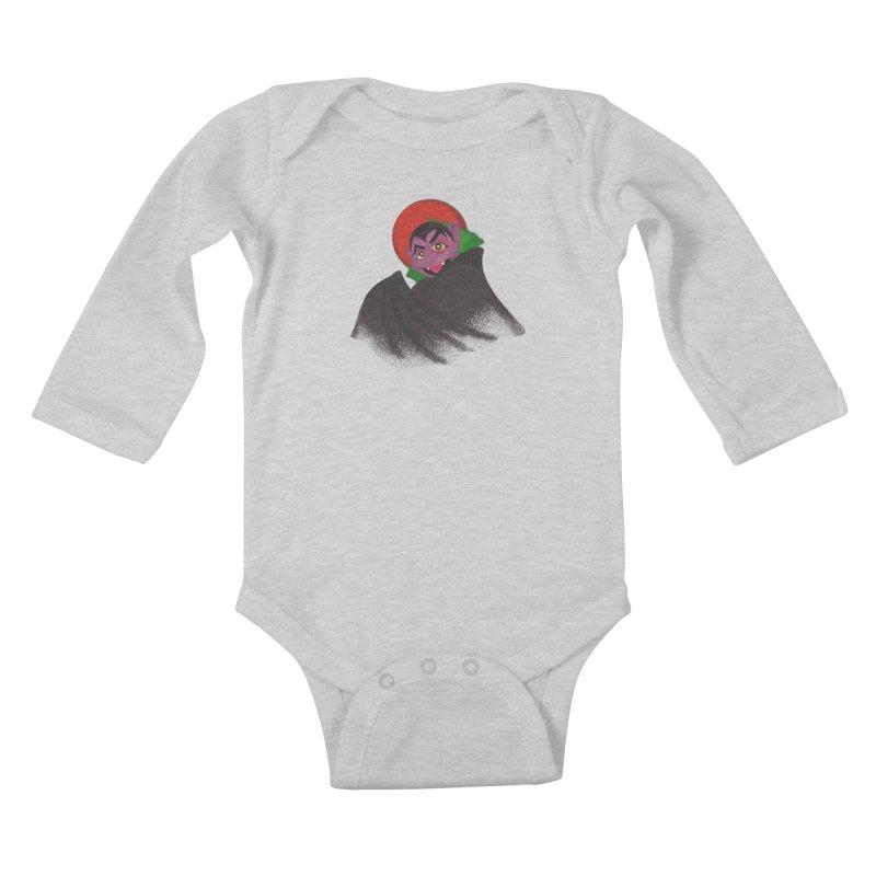 bleh Kids Baby Longsleeve Bodysuit by okik's Artist Shop