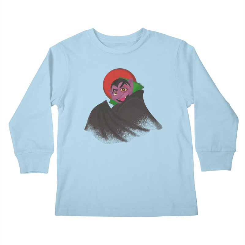 bleh Kids Longsleeve T-Shirt by okik's Artist Shop