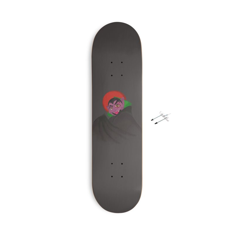 bleh Accessories With Hanging Hardware Skateboard by okik's Artist Shop