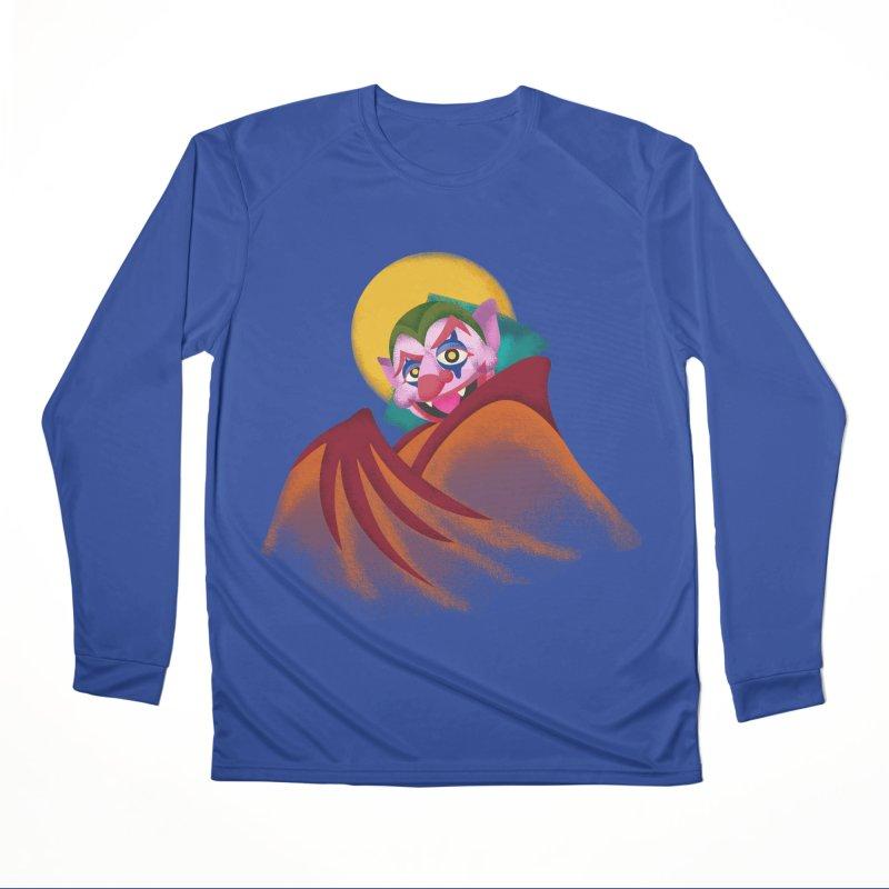 put on the happy fangs Men's Performance Longsleeve T-Shirt by okik's Artist Shop