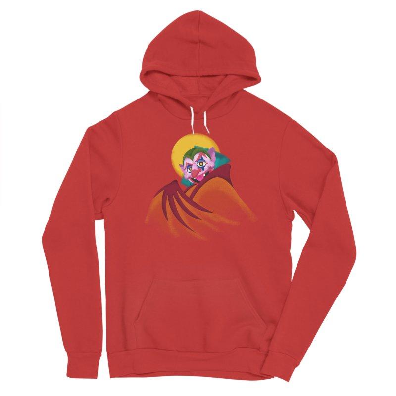 put on the happy fangs Women's Pullover Hoody by okik's Artist Shop
