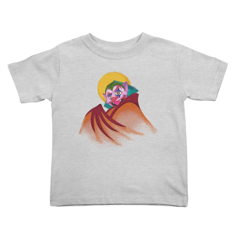 put on the happy fangs Kids Toddler T-Shirt by okik's Artist Shop