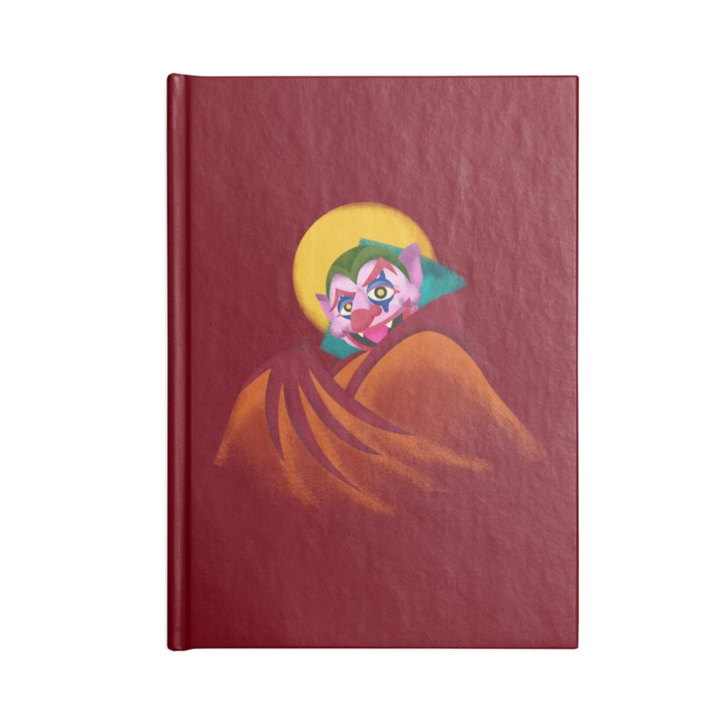 put on the happy fangs Accessories Lined Journal Notebook by okik's Artist Shop