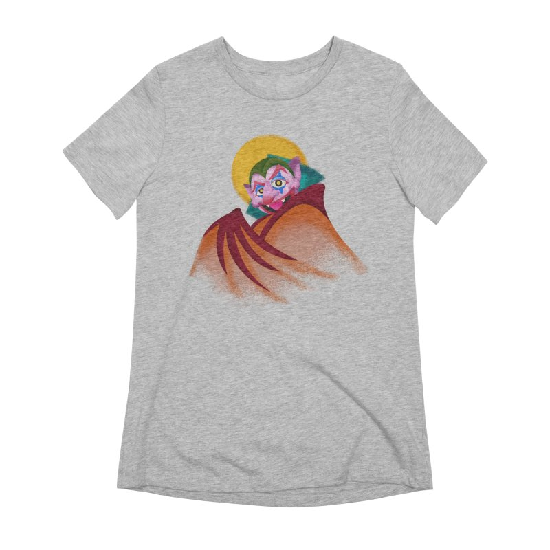 put on the happy happy fangs Women's Extra Soft T-Shirt by okik's Artist Shop