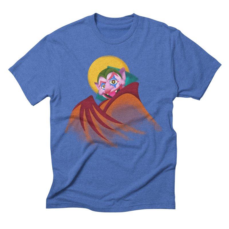 put on the happy happy fangs Men's T-Shirt by okik's Artist Shop