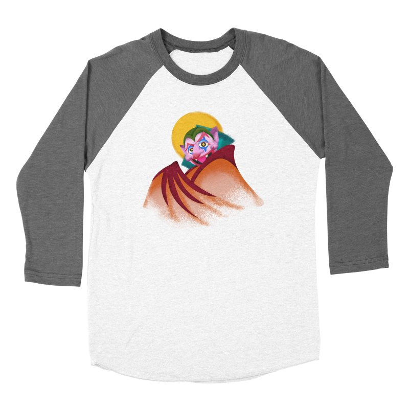 put on the happy happy fangs Women's Longsleeve T-Shirt by okik's Artist Shop