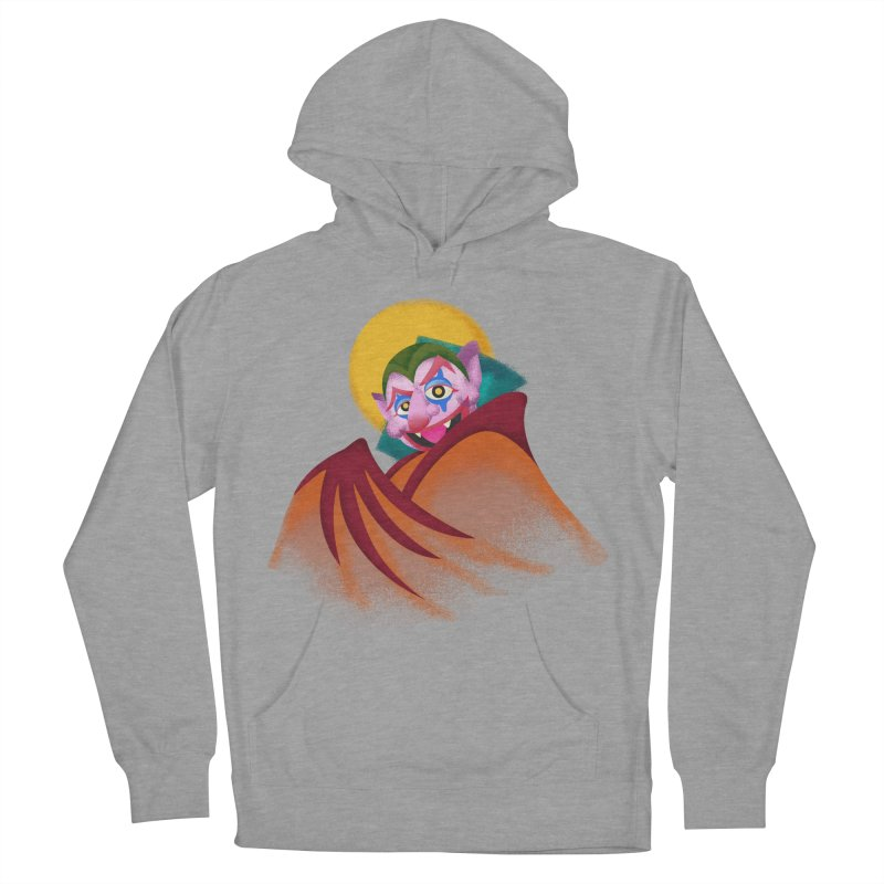 put on the happy happy fangs Women's French Terry Pullover Hoody by okik's Artist Shop