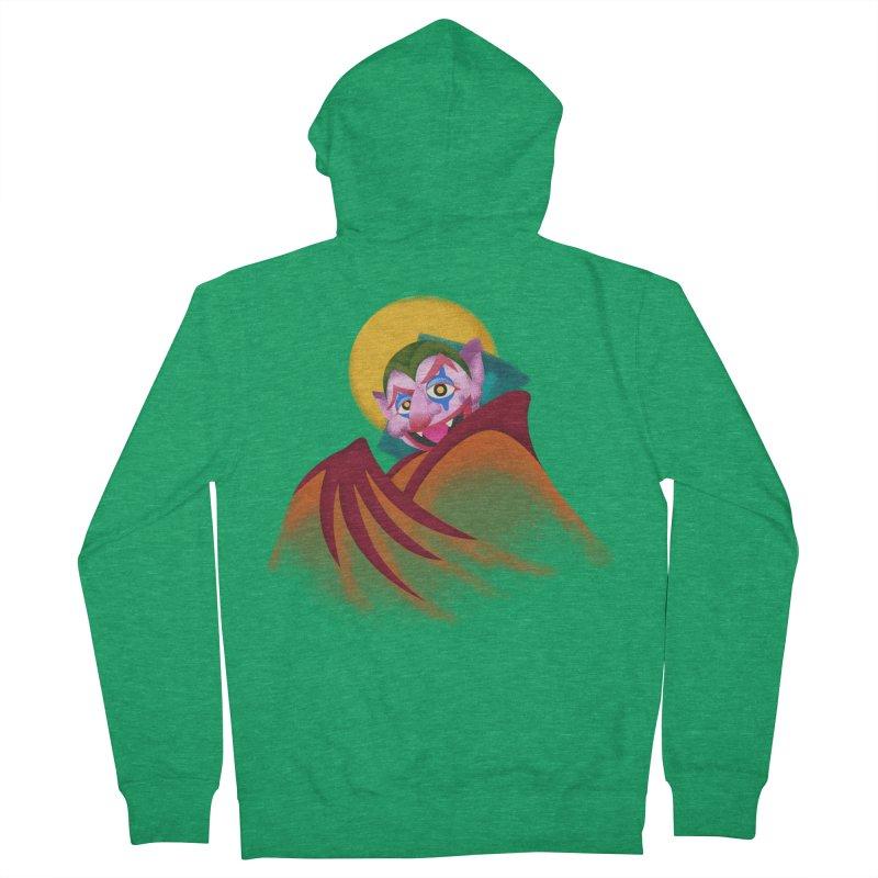 put on the happy happy fangs Women's Zip-Up Hoody by okik's Artist Shop
