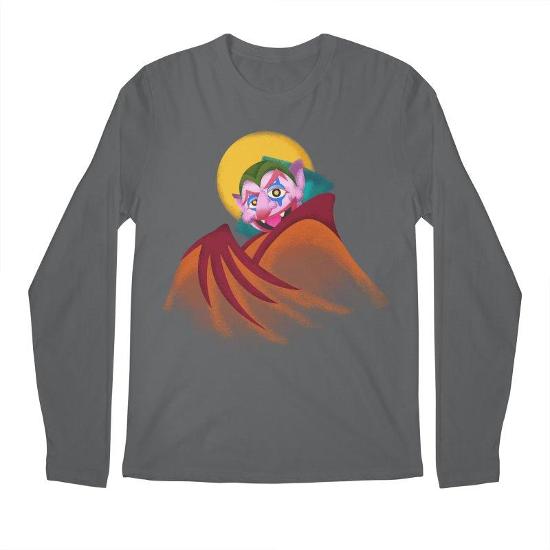 put on the happy happy fangs Men's Longsleeve T-Shirt by okik's Artist Shop