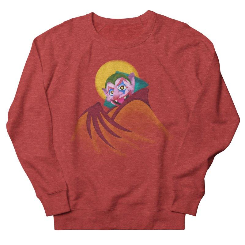 put on the happy happy fangs Men's French Terry Sweatshirt by okik's Artist Shop