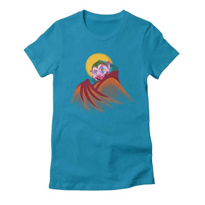 put on the happy happy fangs Women's T-Shirt by okik's Artist Shop