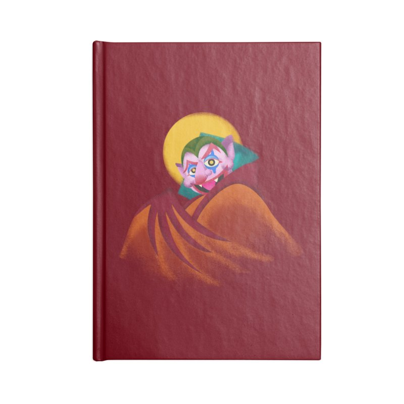 put on the happy happy fangs Accessories Lined Journal Notebook by okik's Artist Shop